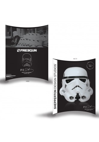 Stormtrooper Pizza - Star Wars - Freegun Microfiber Boxershorts