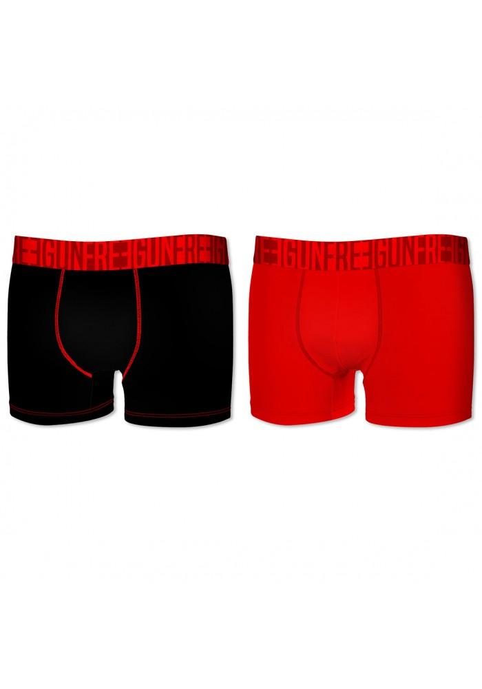 2-pack Microfiber Boxershorts - Sort...